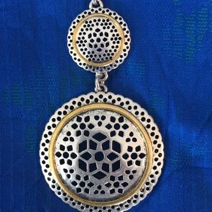 """Jewelry - Diver w gold trim 30"""" necklace"""